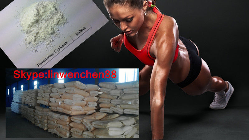 Off - White Crystalline Raw Steroid Powders / Muscle Growth Hormone For Bodybuilding from USA Shipping